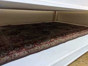 Area Rug Cleaning Drying Process